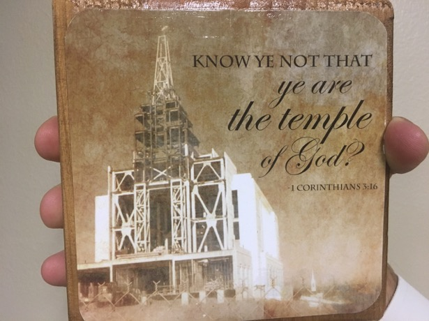 Rexburg temple under construction. 'Know ye not that ye are the temple of God? 1Corintians 3:16'